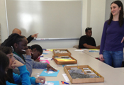 Blair Middle School's after-school LEARNS program visits TO