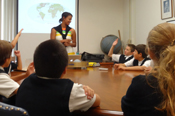 Assumption 6th graders visit Caltech